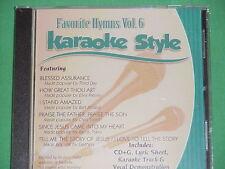 Favorite Hymns #6 ~ Christian Daywind Karaoke Style ~~ How Great Thou Art ~ CD+G