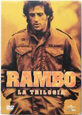 Dvd Rambo - La trilogia con Sylvester Stallone cofanetto slipcase 3 dischi Usato