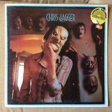 CHRIS JAGGER - CHRIS JAGGER VG+/EX++ VINYL LP - 1st pressing 1973 PRINTED INNER