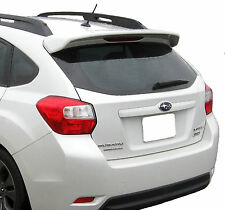 PAINTED SPOILER FOR A SUBARU IMPREZA 5-DOOR HATCHBACK FACTORY STYLE 2012-2017