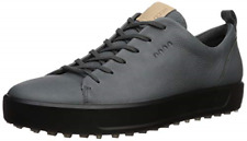 ECCO Men's Golf Soft Hydromax Sneaker  in Dark Shadow Nubuck - Sz 42 / 8 - 8.5