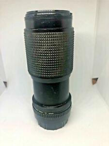 ROKINON AUTO ZOOM MACRO 80-200mm 1:4.5 Camera Lens No. 813904 MC