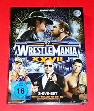 Wrestlemania XXVII -- 3er-DVD