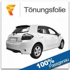 4-teilig hinten 07-12 Sonnenschutz Toyota Auris 5-Türer BJ Heckscheibe