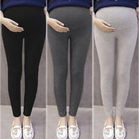 Women Thick Comfortable Maternity Cotton Leggings Full Ankle Length PREGNANCY