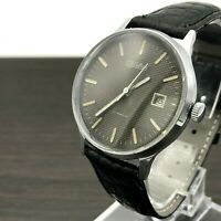 Vintage SLAVA Casual Men's PERFECT Formal Date Wristwatch Russia 2MCHZ Rare GIFT