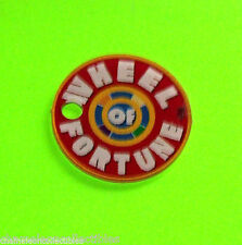 WHEEL OF FORTUNE By STERN 2007 ORIGINAL NOS PINBALL MACHINE PROMO KEYCHAIN #1