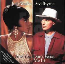 JODY WATLEY After You DAVID BYRNE Don't Fence Me In 1990 Promo CD Red Hot & Blue