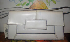 Cute~White~NineWest~Handbag~Clutch~Nice Size~Evening