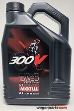 Aceite Motos 4T Motul 300V FL OFF Road 15W60, 4 litros