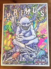 Rainbow Goblins Psychedelic Primus Les Claypool Knoxville Poster Signed GIGART