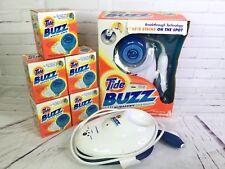 Tide Buzz Ultrasonic Stain Remover 5 Refills & Extras Lot SR2000 Black & Decker