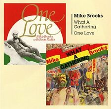 Mike Brooks + Mike Brooks and Roots Radics - What A Gathering + One Love [CD]