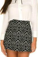 MOTEL ROCKS Annie New York Deco Skirt Size Small S  (MR90.1)