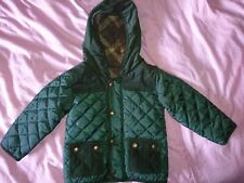 M&S Boys Coat (18-24 Months) Green