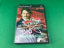 Are You Smarter Than A 5th Grader Make the Grade Sony PlayStation 2 PS2 Game NEW