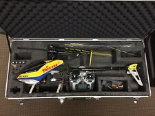 Align t-rex 500 radio controlled helicopter and Spektrum DX6i radio.