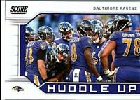 2019 Score Huddle Up Inserts NFL Football Card Singles You Pick Buy 4 Get 2 FREE