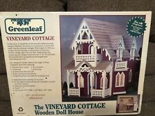 Greenleaf wood Dollhouse kit Vineyard Cottage new in sealed box