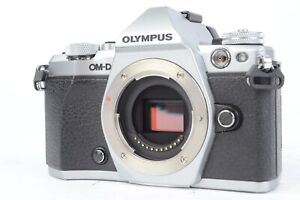 Olympus OM-D E-M5 Mark II 16.1MP Digital Camera Silver w/ MACK Warranty #S41335