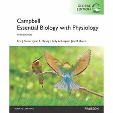 Campbell Essential Biology with Physiology, Global Edition by Jane B. Reece,...