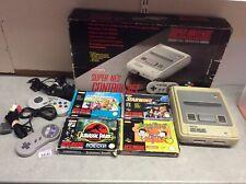 Nes Super Nintendo Controler Set With Games
