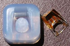 Clear handmade Silicone Mold for Ring size 6. (01) FREE USA SHIPPING!!!