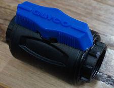 """GUYCO BALL VALVE 1"""" 25mm BSP FULL FLOW GLASS REINFORCED NYLON NORMA"""
