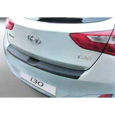 ABS Ladekantenschutz für Hyundai i30 5 türer 2012-2017 Schwarz