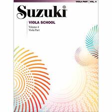 Suzuki Viola School - Volume 4 - Book - Authorized Dealer!