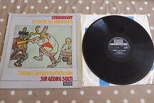 Stravinsky Le Sacre Du Printemps Solti Decca Stereo ED1 SXL 6691 TAS UK LP Rare