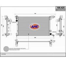 Wasserkühler Kühler FIAT 500L 1.4 AHE  109.425