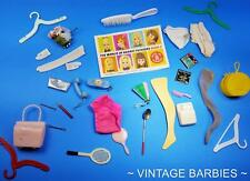 New ListingBarbie Doll Mixed Accessories Lot #10 Excellent - Tlc ~ Vintage 1960's