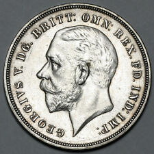 1935 KING GEORGE V GREAT BRITAIN SILVER JUBILEE CROWN COIN