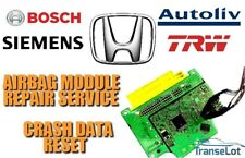 HONDA JAZZ 77960-TF0-G820-M3 AIRBAG SRS MODULE CRASH DATA RESET REPAIR SERVICE