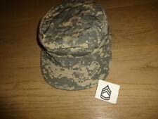 US ARMY SERGEANT-FIRST-CLASS ACU PATROL FIELD CAP 7 1/4 HAT UNIFORM DIGITAL E7A