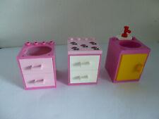 3 x LEGO®  Belville/Duplo Schränke wie abgebildet gebraucht.