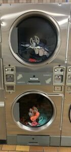 Heubsch Commercial Gas Stack 30 pound Coin Operated Dryer