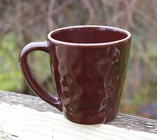 Starbucks Coffee Company Portugal 11oz 2007 Mug Brown Terracotta Dimple