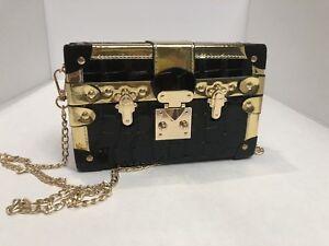Clutch Handbag Designer Messenger Bag /Panelled Rivet Shoulder Bag