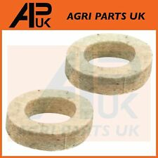 2 Massey Ferguson 65 135 165 175 185 Tractor Steering arm Spindle felt dust seal