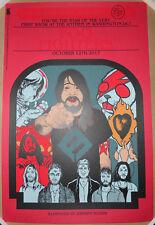 Mega Rare Red Variant Foo Fighters Washington Dc Jermaine Rogers Print Poster Ap