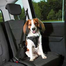 Trixie Dog Protect Car Harness Safe Seat Belt Padding Adjustable All Sizes Black M 12856