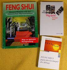 3 x Esoterik Paket Sammlung - Feng Shui - Gerümpel - Magic Cleaning - Aufräumen