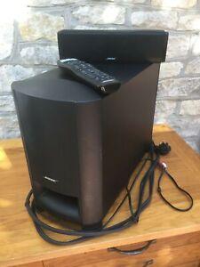 Bose Cinemate 15 digital home theatre system - main speaker, sound bar & remote