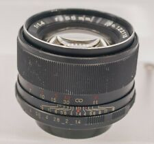 Auto Mamiya/Sekor 55mm F1.4 M42 Screw Mount Prime Lens Tomioka