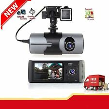 Dual Lens Camera HD Car DVR Dash Cam Video Recorder G-Sensor w/ Night Q9