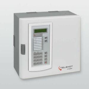 Telenot Complex 200 H Alarmzentrale, mit Funk-Funk-Gateway FGW 210 Einbausatz