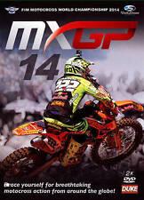 MXGP/MX MOTOCROSS WORLD CHAMPIONSHIP 2014 DVD 2-Disc. 399 min. DUKE Video 2355N