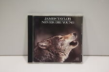 James Taylor (2) – Never Die Young   [VGC CD] (REF TS)